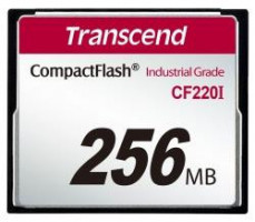 Transcend Compact Flash CF220I 256MB Industrial (TS256MCF220I)