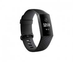 Fitbit Charge 3 Armband Schwarz