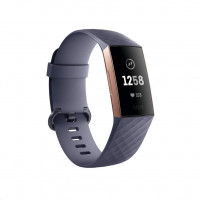 Fitbit Charge 3 blaugraues Armband