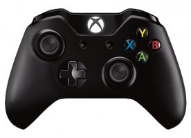 Microsoft Xbox One Controller black