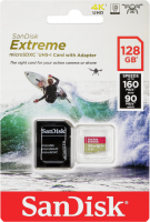 SanDisk microSDXC ActionSC 128GB Extr.160MB A1 SDSQXA1-128G-GN6AA