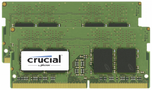 Crucial 32GB DDR4 SDRAM 2400 MT/s Kit 16GBx2 SODIMM 260pin for Mac