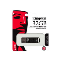 Kingston FLASH DTEG2/32GB DataTraveler Elite G2 32GB USB3.1/180MB/s read,50MB/s write/metal casing Retail