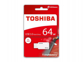 TOSHIBA U303 64GB Flash Disk bílá / 64GB / USB 3.0