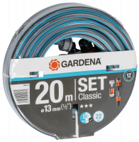 Gardena Classic Hose 13mm 1/2 20 m with Accessory
