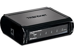 TRENDnet 5-Port 10/100Mbps Fast Ethernet Switch (TE100-S5)