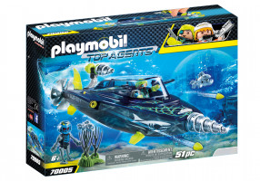 Playmobil  Team SHARK Drill Destroyer | 70005