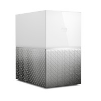 WD NAS WDBMUT0200JWT-EESN My Cloud Home Duo 20TB 2-bay NAS RAID Tower/GbE/WD SmartWare Pre/WD Red HD Retail