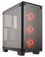 Corsair case Crystal Series 460X RGB Tempered Glass,Compact ATX Mid-Tower