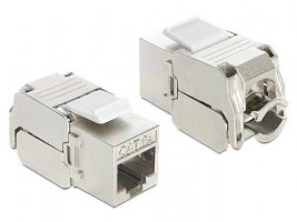 Delock Keystone modul RJ45 female> LSA Cat.6A (86205)