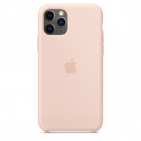 Apple iPhone 11 Pro Silicone Case Pink Sand