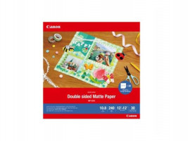 Canon MP-101 D 12x12,30 Sheets Double sided Matte Paper,240 g