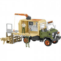 Schleich Wild Life    42475 Animal rescue large truck