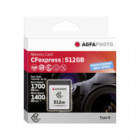 AgfaPhoto CFexpress        512GB Professional High Speed