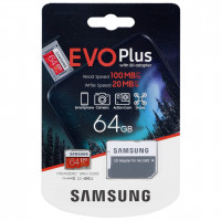 Samsung microSDXC EVO + 64GB s Adapter MB-MC64HA/EÚ