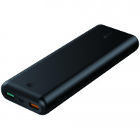 Auke PB-XD20 Black Power Bank 20100 mAh   3xUSB   7.4a   Quick Charge 3.0   Power Delivery   USB-C cable