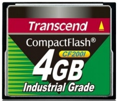 Transcend Compact Flash 4GB Industrial (UDMA4)