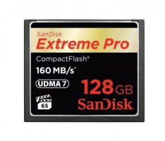 SanDisk Extreme Pro CF 128GB 160MB/s