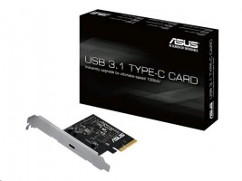 ASUS USB 3.1 TYPE-C CARD - USB adaptér - PCI Express x4 - USB-C