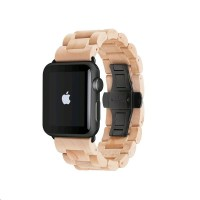 Woodcessories EcoStrap Apple Watch Band 42mm,maple black
