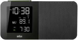 Braun BNC 010 Global Radio Controlled Alarm Radio čierna