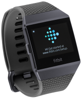 Fitbit ionic grey/graphit - Fitness hodinky