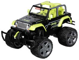 Carrera RC 2,4 GHz 1:16 Jeep Wrangler Rubicon,green