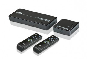 ATEN VE829-AT-G 5x2 HDMI WIRELESS EXTENDER W/EÚ ADP.