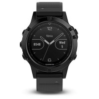 Garmin fenix5 Sapphire Black Optic,Black band