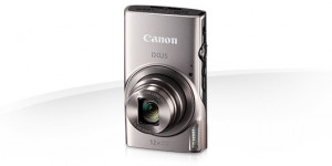 "Canon IXUS 285 HS SILVER - 20MP, 12x zoom, 25-300mm, 3,0 "", GPS, Wi-Fi"