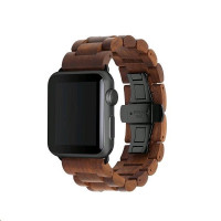 Woodcessories EcoStrap Apple Watch Band 42mm,walnut black