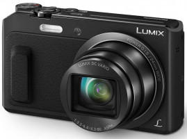 Panasonic DMC-TZ57EP-K, 16 Mpx MOS, 20x zoom 24mm POIS, Full HD, WiFi, čierna