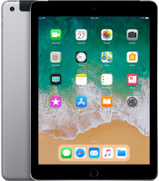 Apple iPad 9.7 (2018) Wi-Fi+Cellular 32GB Space Grey MR6N2FD/A