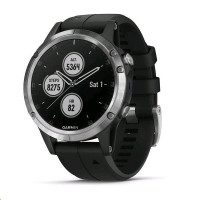 Garmin fenix5 Plus Silver,Black Band