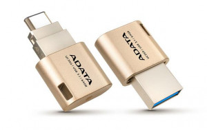 Adata DashDrive UC350,64GB,USB 3.0,Gold (AUC350-64G-CGD)